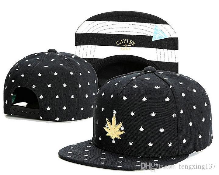 En iyi şapka Swag Cayler Sons Snapback Kapaklar Düz Hip Hop Kap Beyzbol Şapkası Şapka Erkekler Için Snapbacks Casquette Kemik Aba Reta Bones Gorr