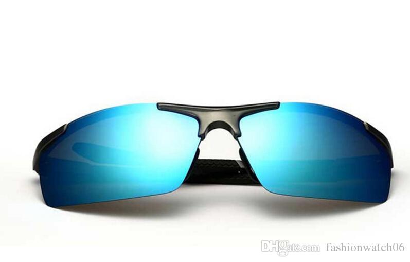 Compre 2018 De Alumínio E Magnésio Dos Homens Óculos De Sol Revestimento  Polarizado Espelho Óculos De Sol Oculos Masculinos Óculos Acessórios Para  Homens ... 3e5d9d7a30