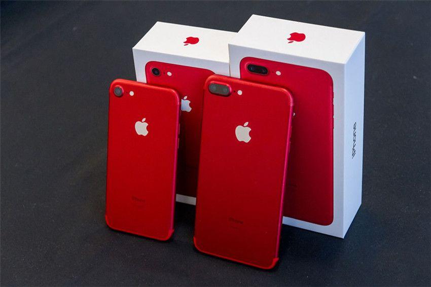 Red Color Refurbished Original Apple iPhone 7 Plus iPhone7 Fingerprint New iOS 32G 128G 256GB ROM Quad Core 12MP 4G Lte Phone DHL