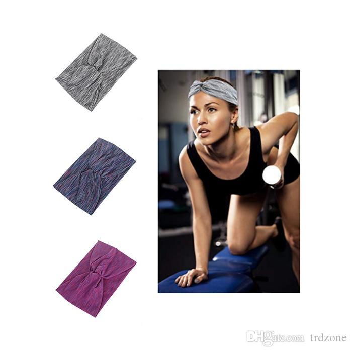 2019 Women S Sweat Wicking Workout Headbands Head Wrap Best Looking Head  Scarf Headband For Sports Or Fashion 1fea8cf6b8