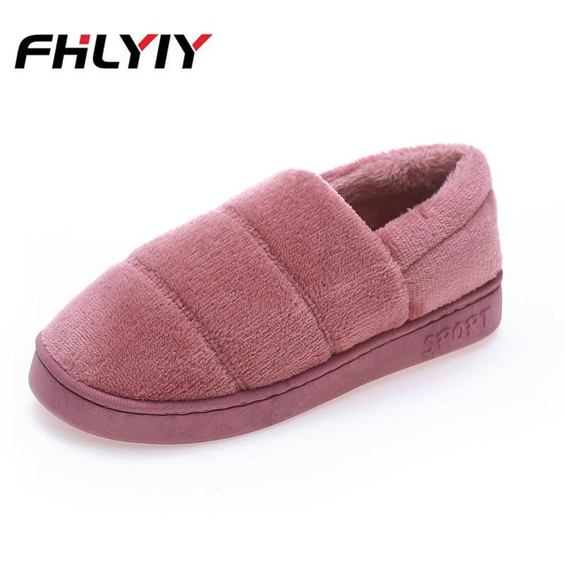 Autumn Winter Women Slippers Home Female Comfort Floor Women Shoes Cotton Ladies  Indoor Slippers Flat Plush Zapatos De Mujer Online with  33.38 Piece on ... f6326f109253