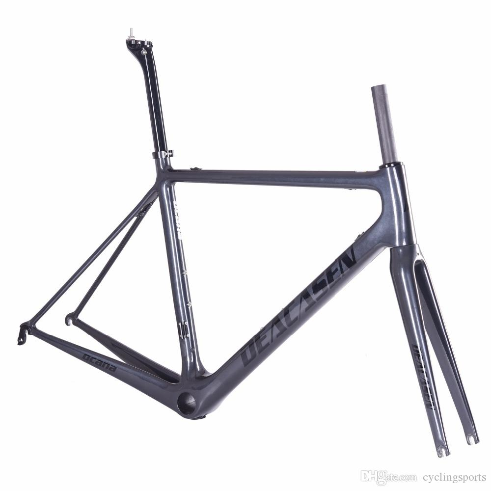 2018 Carbon Road Bike Frame Carbon Fibre Road Cycling Race Bicycle ...