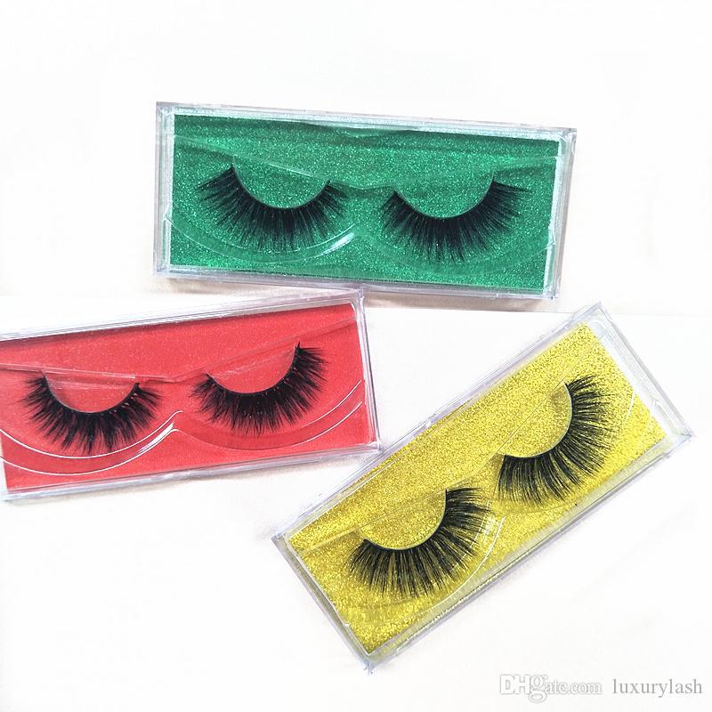 6d90673dd8b Seashine LASHES 3D Eyelashes Thick Real Mink HAIR False Eyelashes ...
