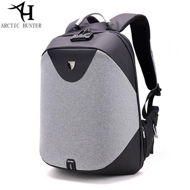 3c8498bf0c ARCTIC HUNTER School Backpack 15.6 Laptop Backpacks Men Waterproof Mochila  Casual Business Travel Anti Theft Backpack Male Bag Y1890401 Kids Backpacks  ...