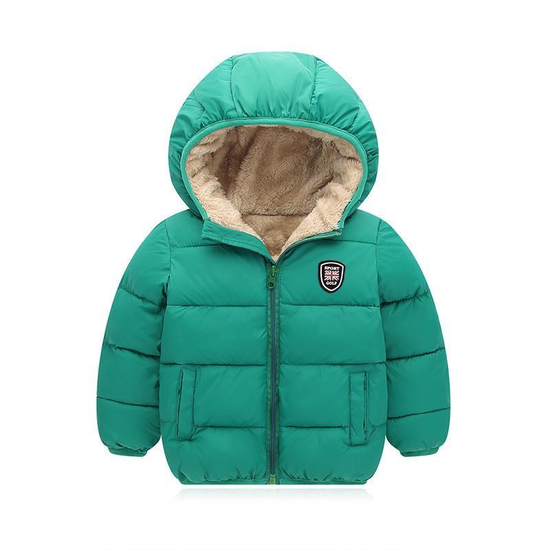 41ff64c30109 BibiCola Children Cotton Outerwear Winter Jackets Boys Coat Thick ...