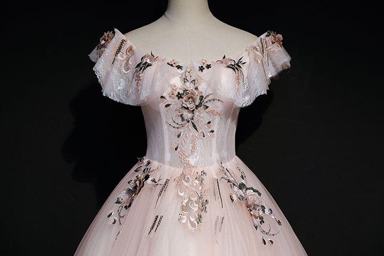 Pale pink vintage dress