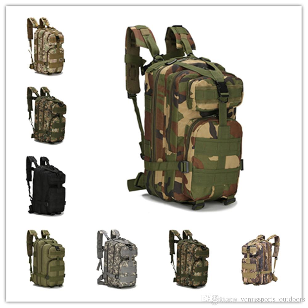 34198fcab867 New 30L 3P Attack Tactical Military Backpacks Unisex Outdoor Travel Bag  Mountaineering Hiking Backpack Camping Trekking Rucksack