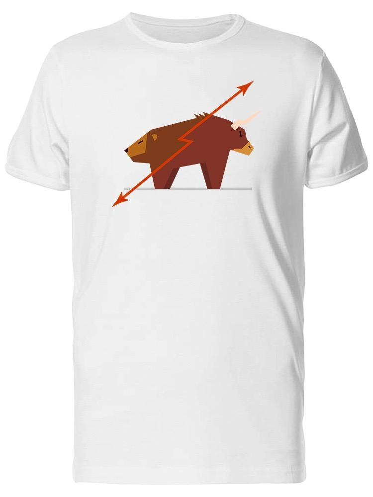 79f4c138cffc Bull And Bear Stock Market. Men'S Tee Image By Shutterstock Funny Unisex  Casual Tshirt Gift Party T Shirts Collared T Shirts From Wildmarkstore, ...
