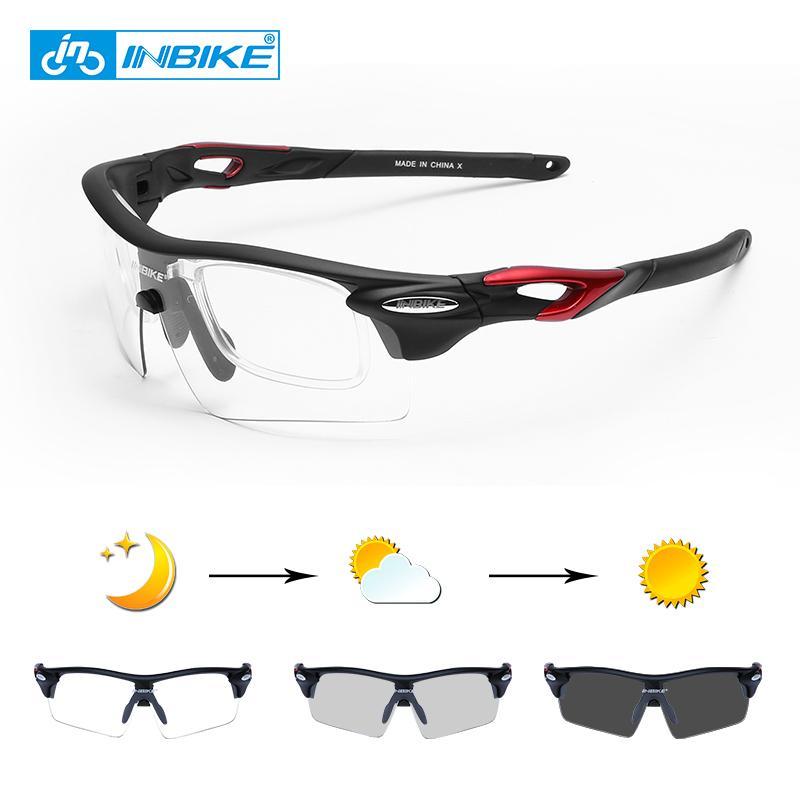 10d61b28619 2019 INBIKE Photochromic Sports Eyewear Windproof Cycling Glasses MTB Road  Bike Polarized Sunglasses Fishing Running Bicycle Goggles From Mtaiyang
