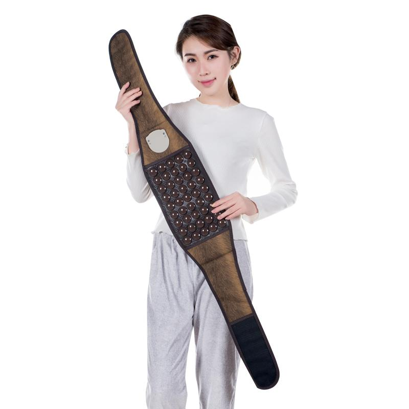 Electric Massage Belt Jade Belt Thermal Physical Therapy Massager Tourmaline Belt Full Body Pain Relief For Sale