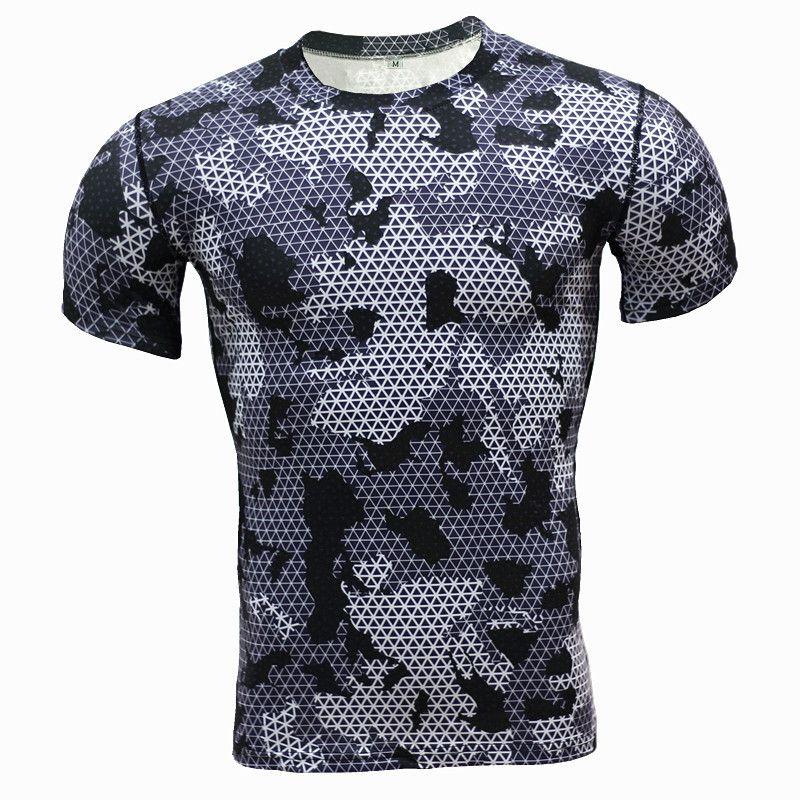 ZYMFOX Running T-Shirts Men Running T-shirt Sports Men Quick Dry ... 2363fb60d6