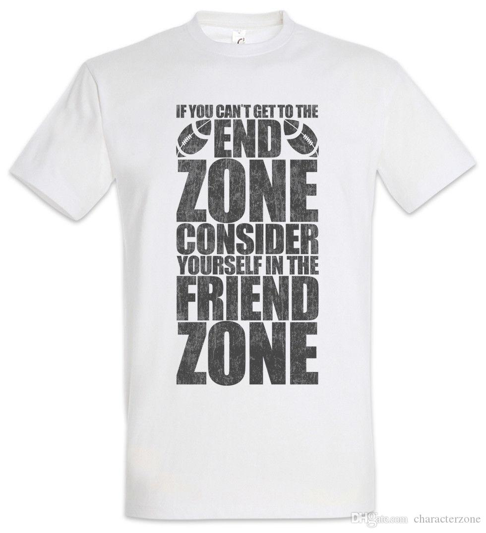 244059d9c2829 ... end zone friend zone t shirt fun american football get to the ...