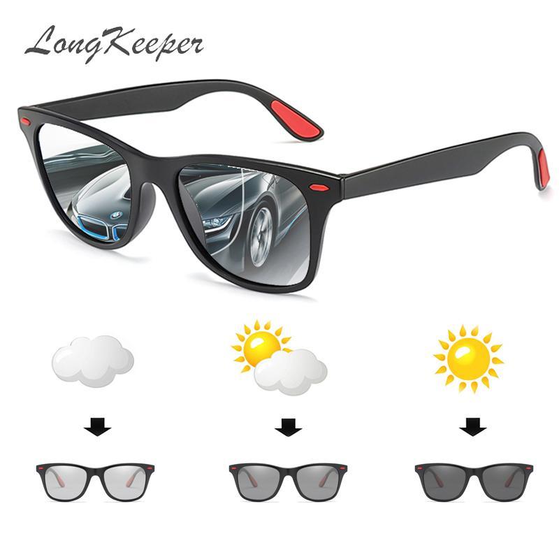38039b6cb7b LongKeeper Polarized Photochromic Sunglasses Women Classic Brand Designer  Sun Glasses Black Frame UV400 Driving Eyewear Gafas Sunglasses For Women  Cat Eye ...