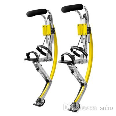 4b139007379951 2019 50~70kg 110~150 Ibs Adult New Generation Skyrunner Kangaroo Shoes Men  Jumping Stilts Men Women Bouncing Shoes From Snho