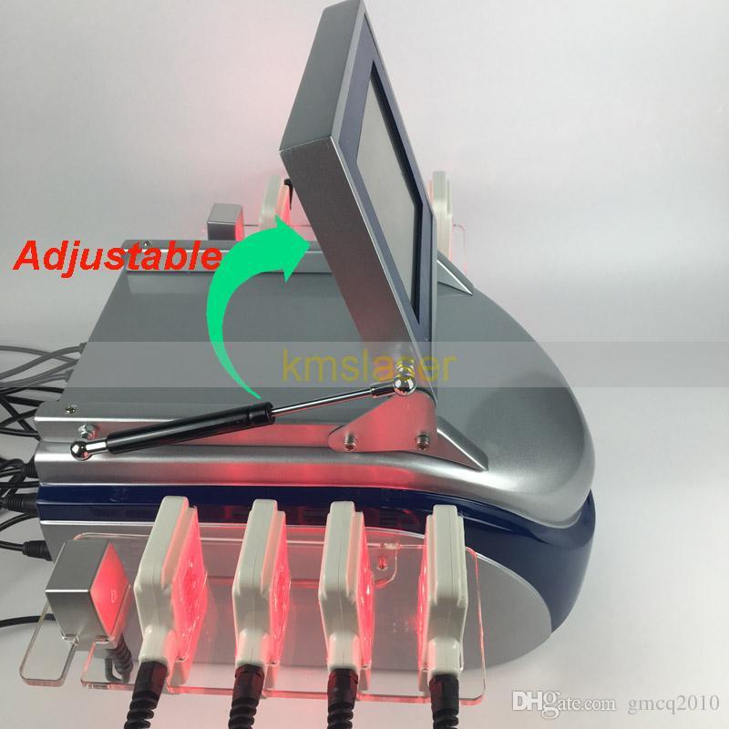 Macchina grassa di lipolaser del laser a diodi di bellezza 40mw di rimozione grassa brandnew 650nm di riduzione delle celluliti che dimagrisce macchina