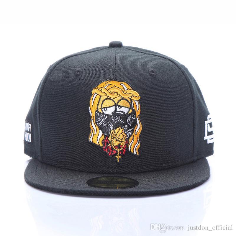 28993976947 Justdon New D9 Jesus Adjustable Snapback Hats Hiphop Rapper ZICO ...