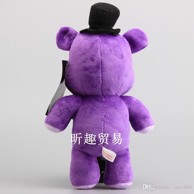 """11.5"""" 30cm 3 Style Five Nights At Freddy's FNAF Fox Bear Bonnie Plush Dolls Stuffed Animals Toy ZQW-A"""