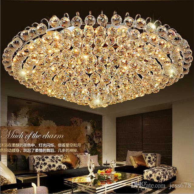 Grosshandel Wohnzimmerlampe Hotelbeleuchtung Goldene Traditionelle