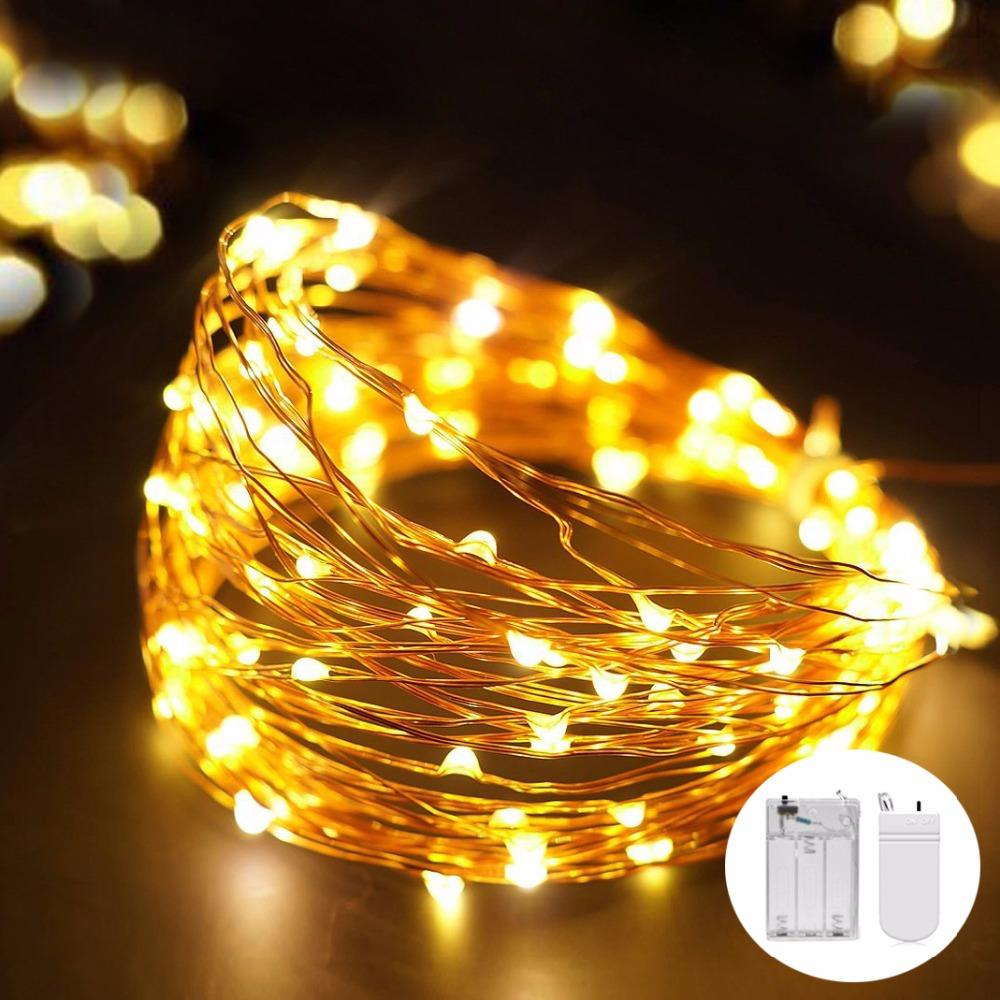 christmas lights indoor 30 50 leds 3m 5m led string copper wire fairy lights for festival wedding party home decoration lamp easter string lights