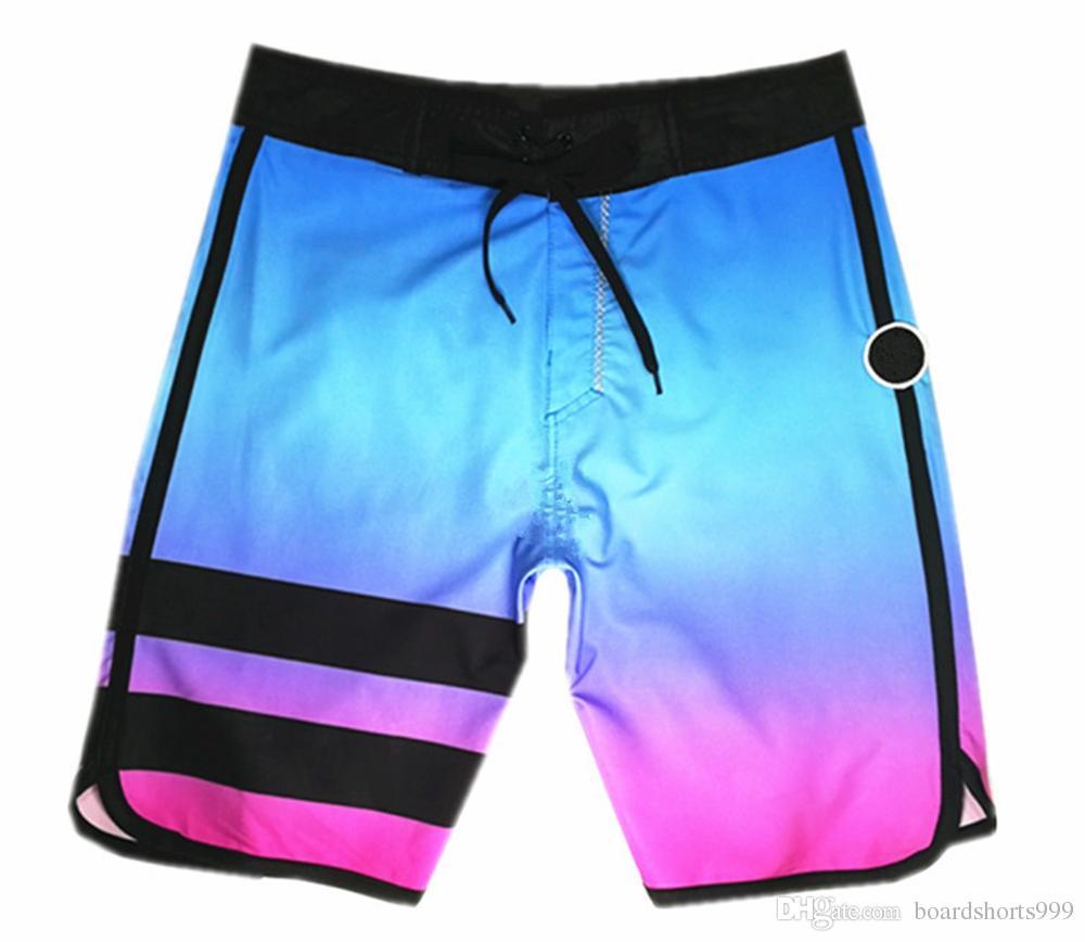 850e8f39c1 Compre Incrível Elastano Spandex Natação Troncos Mens Quick Dry Surf Calças  Calças De Natação Solto Lazer Shorts Bermudas Shorts Board Shorts  Beachshorts De ...