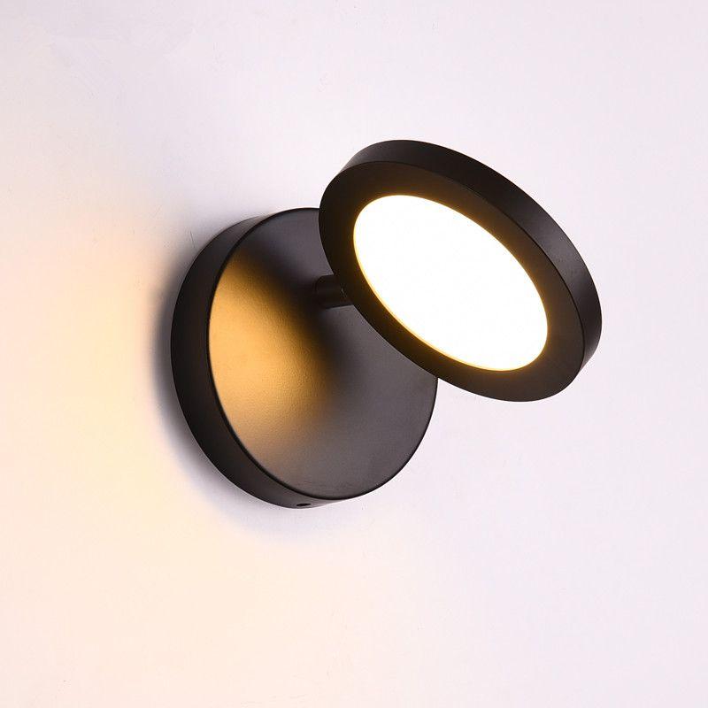 2020 Modern Nordic Round LED Wall Light Creative ...