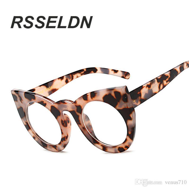 c4b0322015c 2019 Wholesale RSSELDN New 2017 Fashion Cat Eye Glasses Frames Optical  Brand Design Vintage Cat Eye Eyeglasses Frame Women Frame Eyeglasses From  Venus710