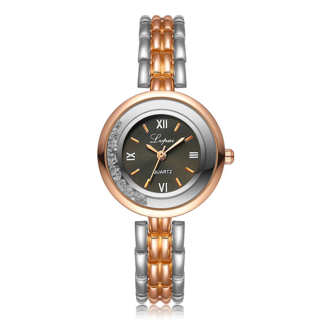 40431091d875 Compre Marca De Lujo Reloj Pulsera Para Mujer LVPAI Relojes Mujeres Reloj  De Pulsera De Cuarzo Reloj De Señoras Vestido De Regalo Relojes Vestidos  Mujer A ...