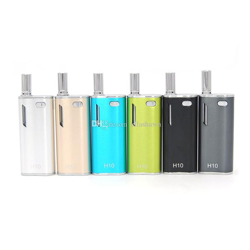 Authentic Hibron H10 Oil Starter Kit 650mAh Battery Box Mod 0.8ml H10 Upgraded CE3 Atomizer Vaporizer 100% Original
