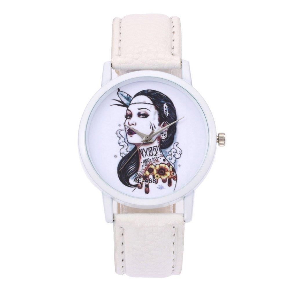 Brand New Ladies Watches Beneficial Bracelet Watch Women S Leather Strap Quartz Watch Fashionable Popular Nice Sweet Gift