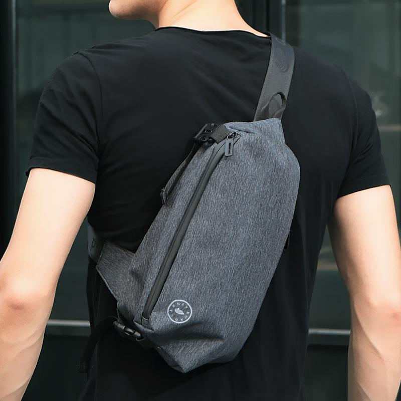 CARNEYROAD Oxford Fabric Crossbody Bags For Men Messenger Anti Theft Chest  Bag Waterproof USB Charging Shoulder Bags Online with  68.2 Piece on ... a3f950114a7fe