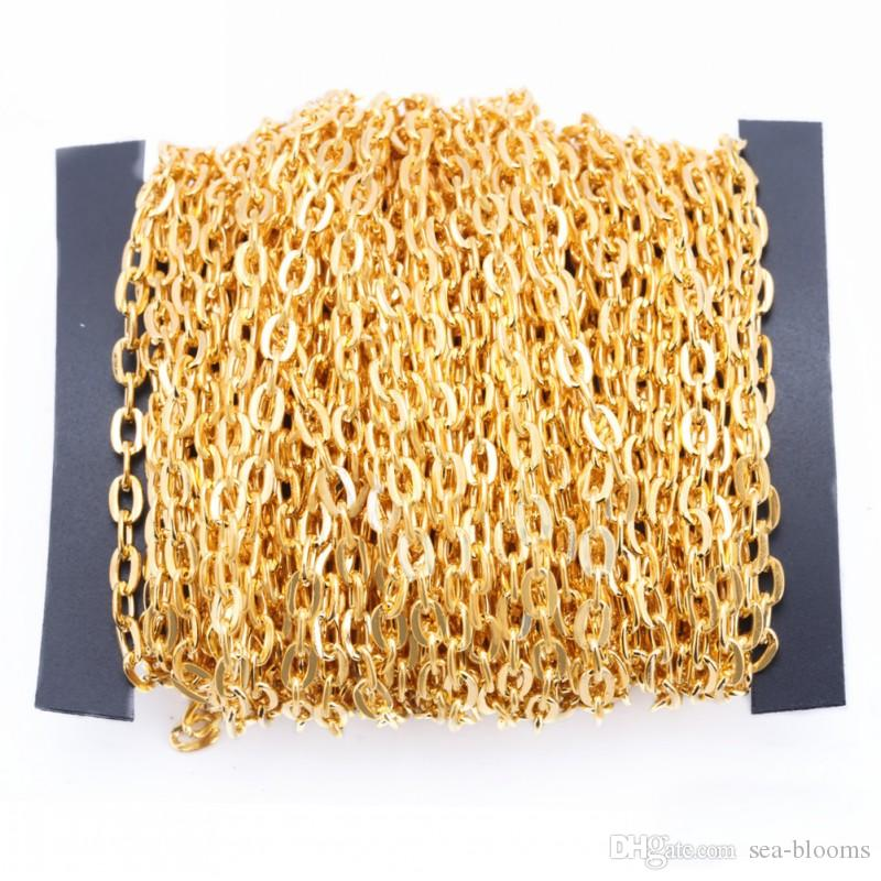 Oval Rolo Link Chain 5*8mm wide Iron DIY jewlery Marking Chain Charming Jewelry Finding Wholesale G180L