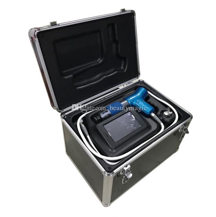 Sistema de terapia física eficaz do sistema de terapia acústica Equipamento de terapia de onda extracorpórea Máquina de ondas de choque para tratamento de lesões especiais
