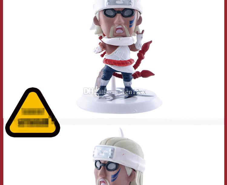 New 3D Classic Figurine Naruto PVC Action Figure Toys Full Set Model Collection