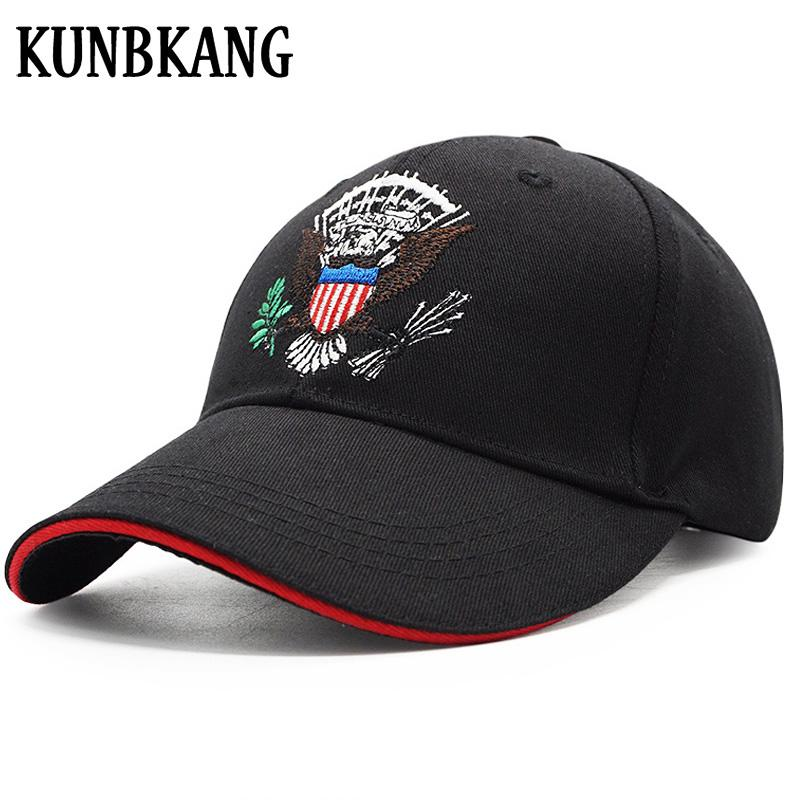 bd95085bb06c6 High Quality USA Flag Baseball Cap Men Women Eagle Snapback Dad Hat Bone  Outdoor Casual Sun Golf Hat Trucker Snapback Cap Gorras Custom Trucker Hats  Compton ...