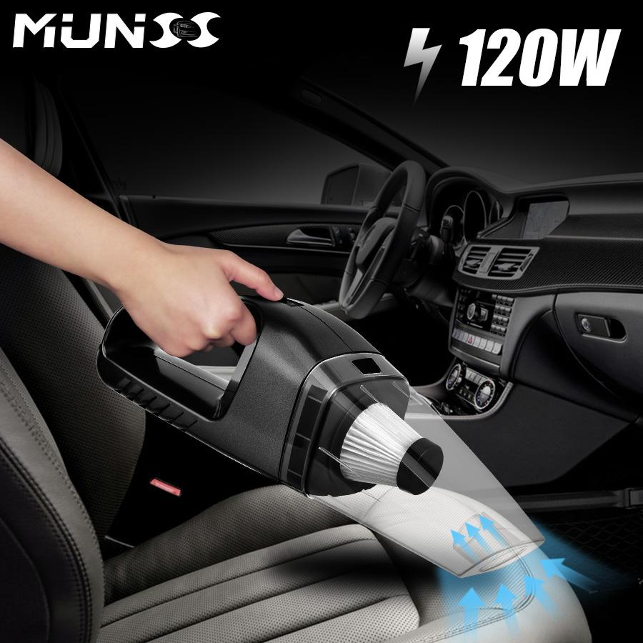 2019 2018 120w Munss Mini Car Vacuum Cleaner Car Cleaner Handheld