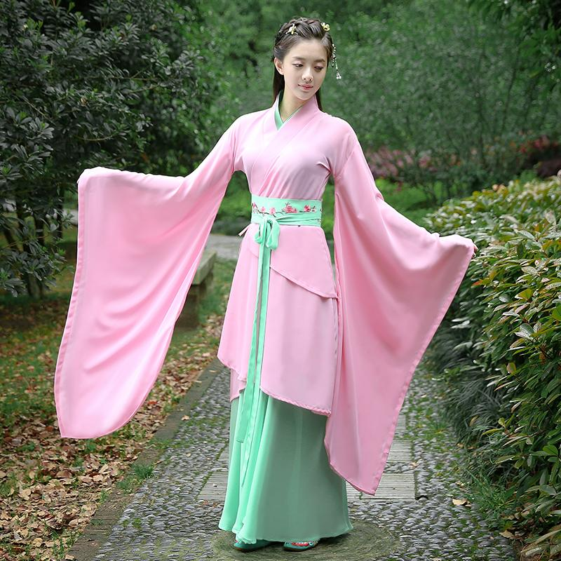 e29e86b5e New Chinese Ancient Costume Dress Cosplay Costume Chinese Traditional  Ancient Tang Dynasty Hanfu Women's Hanfu Dresses