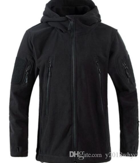 Hot Hunting Outdoor polar fleece Giacca tattica militare Army Army Softshell coat Windbreaker