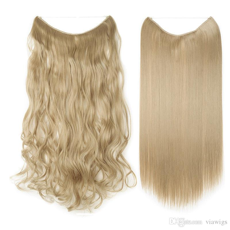 Clip In Hair Extensions Piece Sexy Long Curly As Human Hair Heat