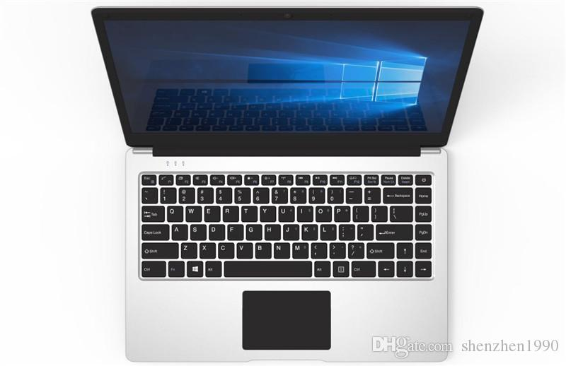 2018 free Shipping 14 inch mini laptop computer Windows 10 2G 4GB RAM 32G 64GB emmc Ultrabook tablet laptop with lowest price