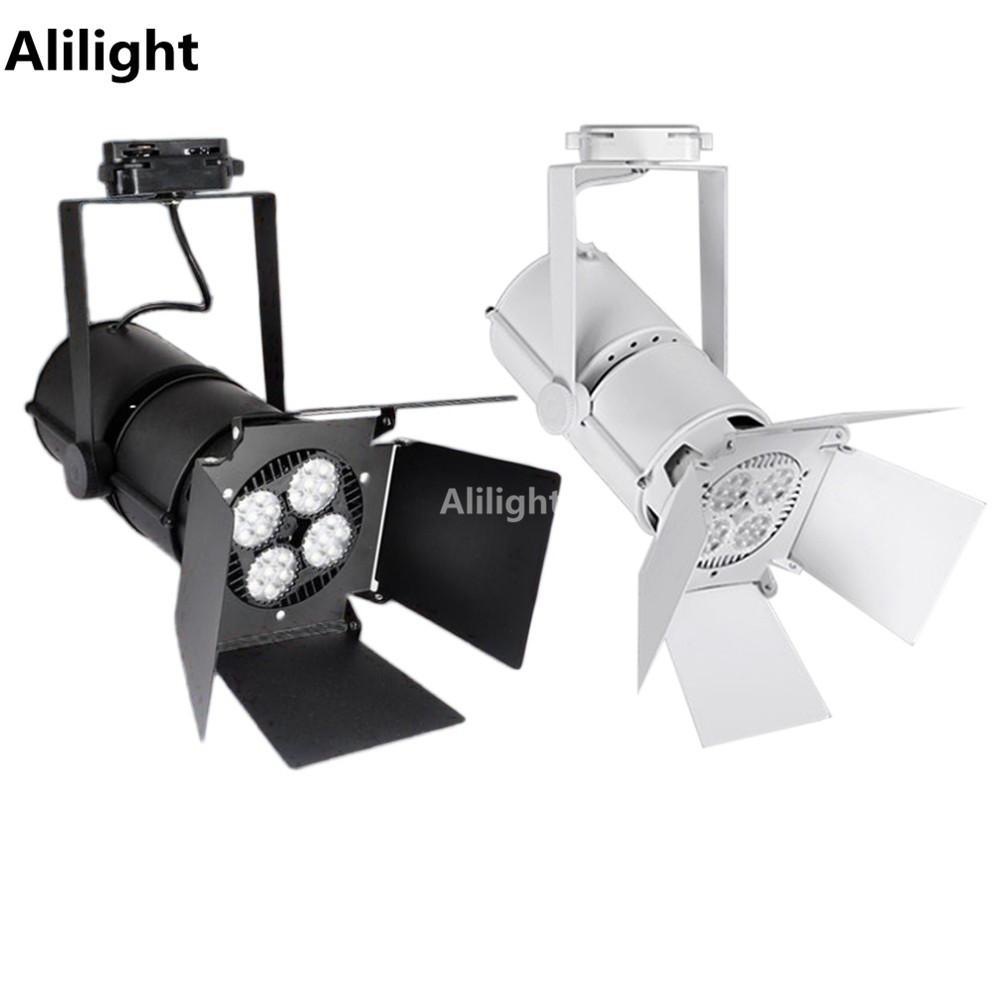 best led track lighting rail light spotlight shop tracking light