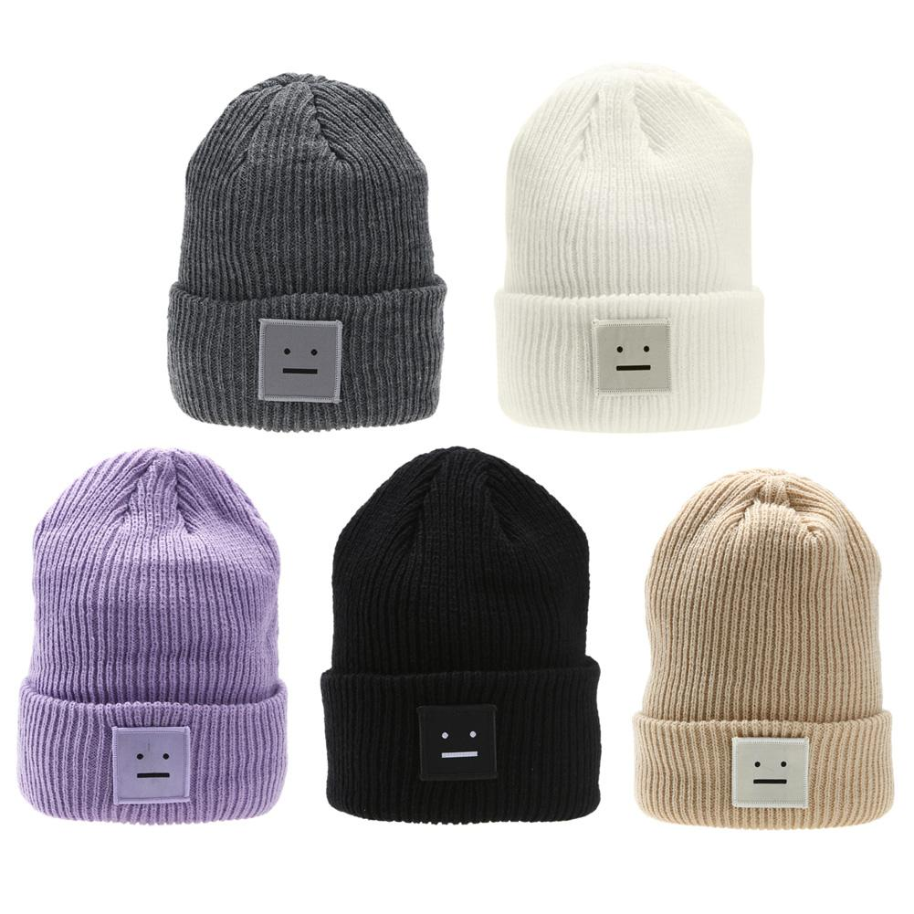 Hat Beanie Fashion Winter Women Men Knit Ski Beanie Ball Wool Cuff Hat Ski  Cap DM 6 Women Hats Cool Beanies From Henrye 039fbe0e9da