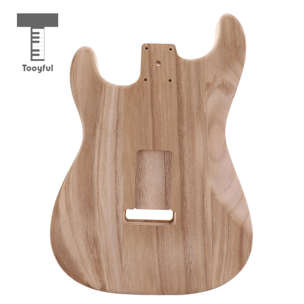 2019 Tooyful Solid Wood Electric Guitar Replacement Unfinished Body