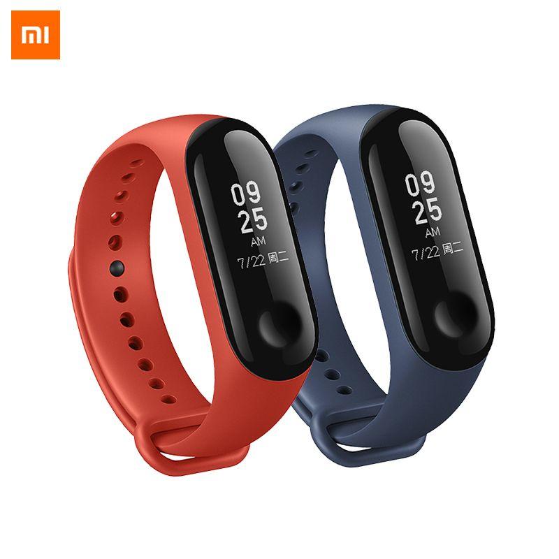 d0317b75783 Compre Original Xiaomi Mi Banda 3 Inteligente Pulseira Miband 3 Smartband Mi  Banda 2+ Xiaomi Original Pulseira De Pulso De Cheriesh