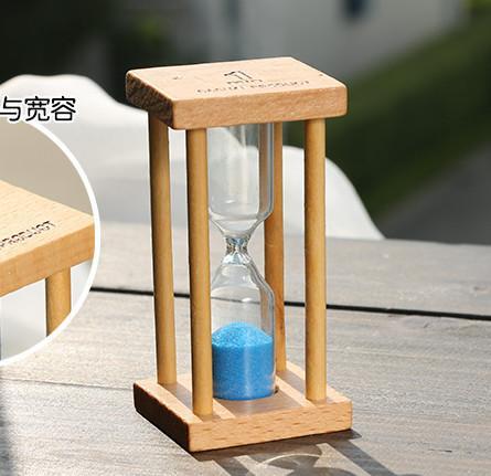 ec59fb9e501 Compre 1 3 5 Minuto Ampulheta De Areia De Vidro Relógio Temporizador  Temporizador De Ampulheta De Madeira Decoração De Casa Ampulheta Secreto  Caçoa O ...