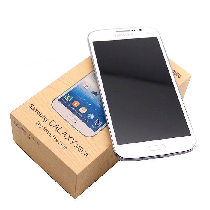 Recuperado Samsung Galaxy mega 5.8inch I9152 i9152 SmartPhone 1.5GB Celular / 8GB 8.0MP WIFI GPS Bluetooth WCDMA 3G 2G Desbloqueado