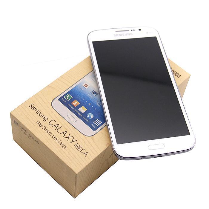 تم تجديد Samsung Galaxy Mega 5.8 بوصة I9152 I9152 الذكي 1.5 جيجابايت / 8GB 8.0MP WiFi GPS بلوتوث WCDMA 3G 2G الهاتف الخليوي غير مقفلة
