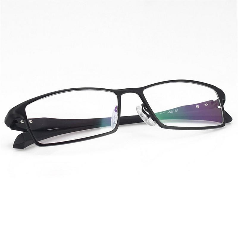 db1fab2202fe 2019 Full Frame Glasses Men Alloy Eyeglass Frames Optical Men s Designer  Glasses Full Frame Optics Large Framed 064 From Watercup