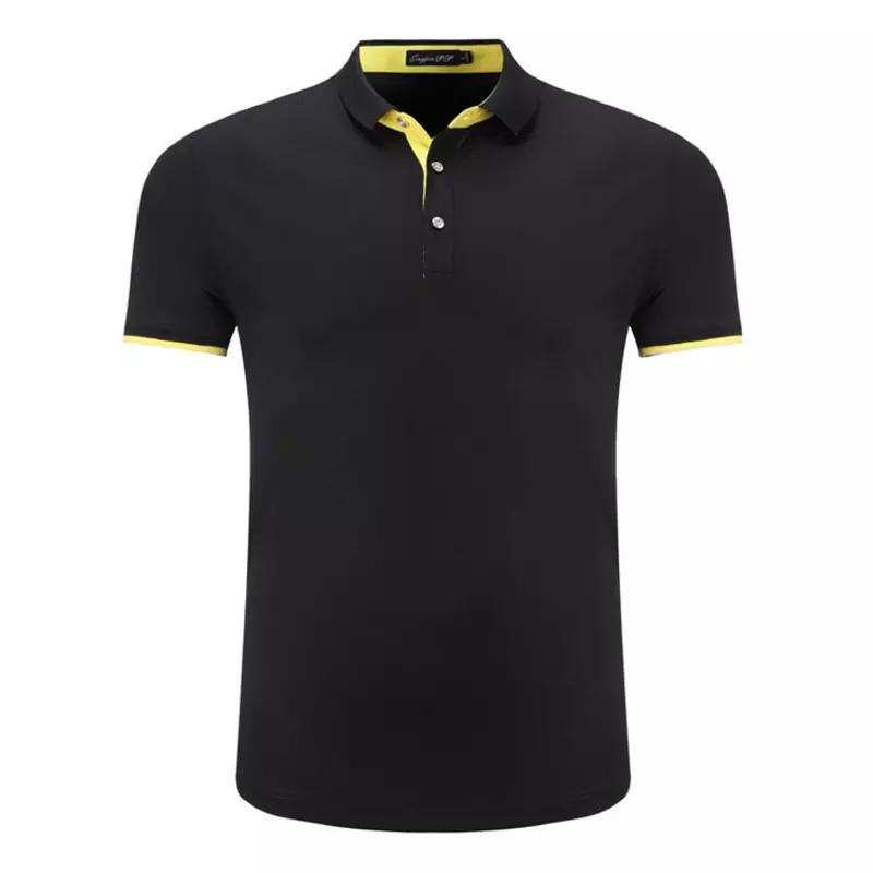 bb990d6d28368 Compre Camisa Polo Hombre De Algodón De Manga Corta Camisa Polo Nuevo 2018 Hombres  Camisa Polo Respirable Ocasional Más El Tamaño S 4xl Marca De Ropa A ...