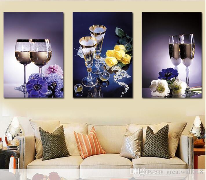 DIY Elmas Boyama Şarap Cam Çiçek Elmas Nakış Satış 5D Reçine Tam Kare Matkap Resim Taklidi Mozaik El Yapımı Hediye LF-007
