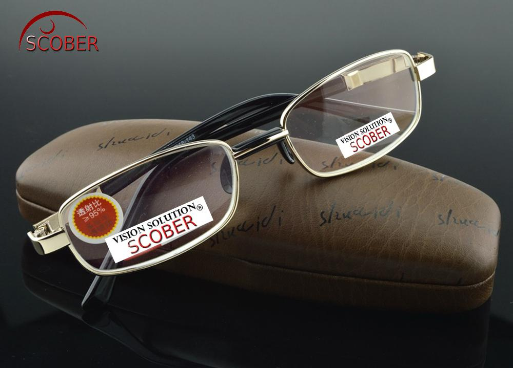 c8661ade37b SCOBER   Natural Crystal Multi-Coated Lens Full-Rim Nickel Alloy ...